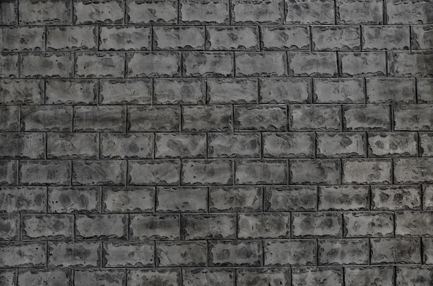 Cement brick wall texture background for wallpaper and quality art.