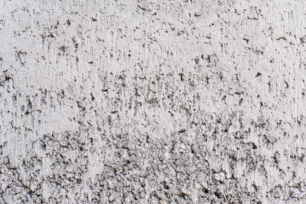 Cement concrete stucco wall.