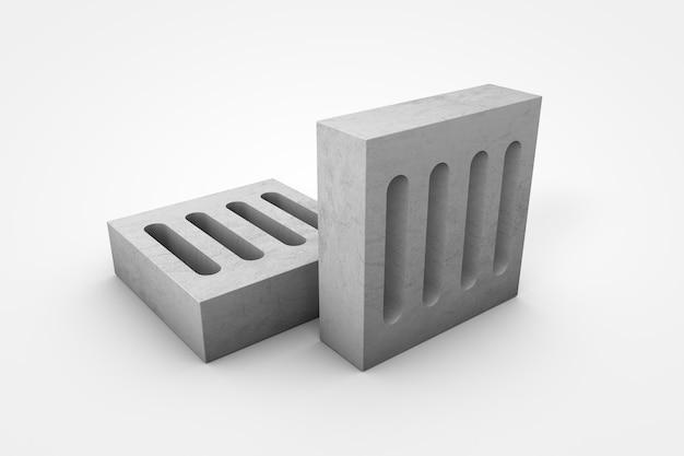 시멘트 격자 3d 그림
