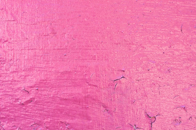 Cement painted wall background, pink vivid color