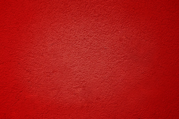 Cement red plaster walls have rough surface