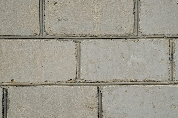 Cement or stone grey brick wall art, texture