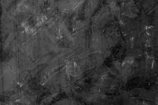 セメントテクスチャ、黒の背景、抽象
