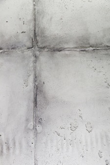 Cement wall surface with joint
