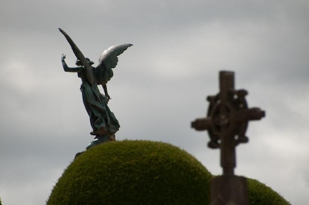 Cemetery punta arenas, chile patagonia