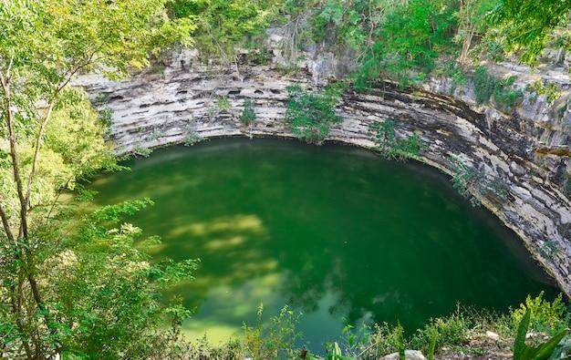 Cenote sagrado sacred sinkhole chichen itza