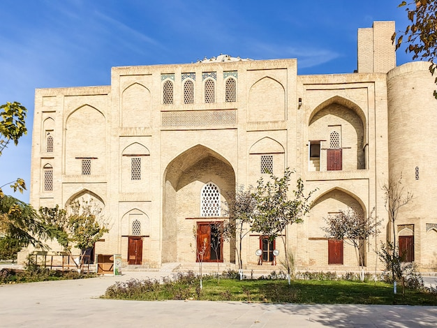 中央アジア。ウズベキスタン、ブハラ市古代建築