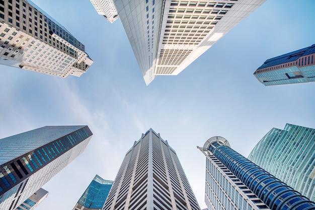 シンガポールの中央ビジネス地区。