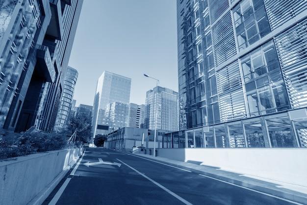 Центральный деловой район, дороги и небоскребы, сямэнь, китай.