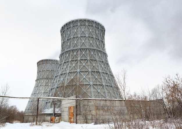 冬の中央電熱chp