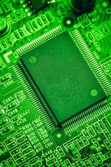 회로 기판, 기술 개념에 중앙 프로세서 칩