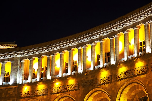On the central square of yerevan, armenia