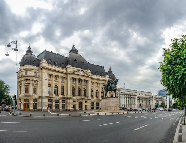 Central university library in bucharest romania