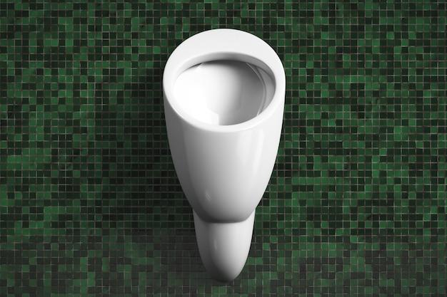 Ceramic automatic urinal in the men39s toilet