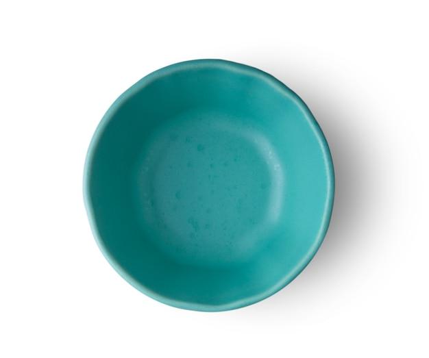 Керамическая чаша, изолированные на белом фоне