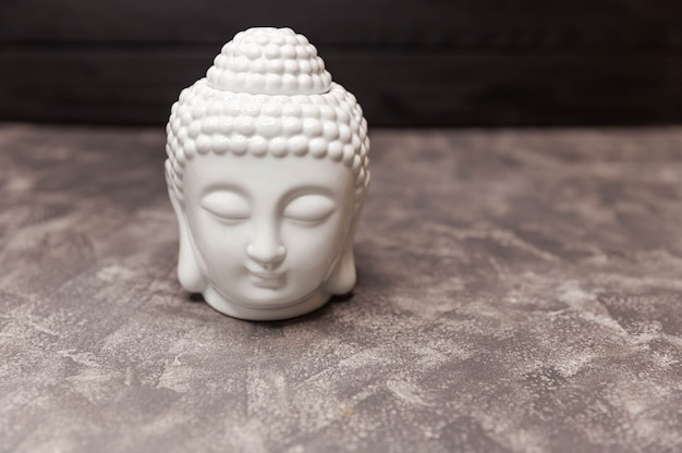 Ceramic head of buddha statue buddha figurine decorative head