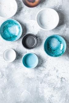 세라믹 작은 접시 그레이비 보트 수제 세라믹 공예 제작 아름다운 전용 식기
