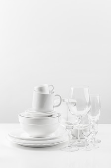 Ceramic tableware collection
