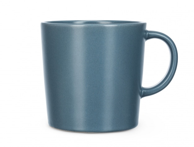 Ceramic tea or coffee cup on white s include clipping path
