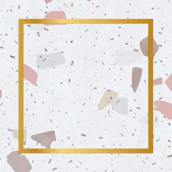 Ceramic tile background frame