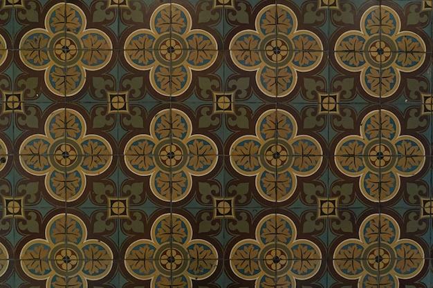 세라믹 타일, 빈티지 화려한 패턴, 추상 기하학