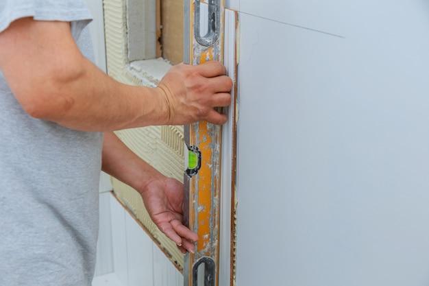 Ceramic tile wall adhesive