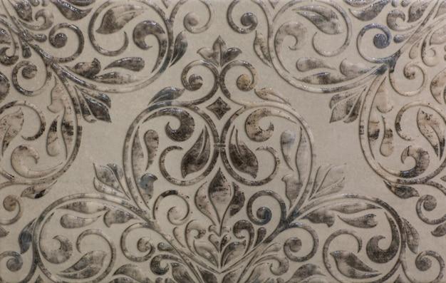 キッチン用の抽象的な幾何学的なモザイクパターンのセラミックタイル