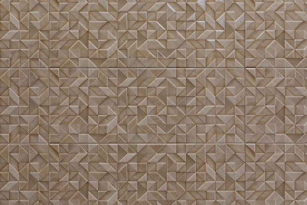 Ceramic tiles with mosaic patterns of different colors close-up, desktop screensaver.