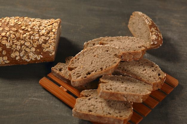 Cereal  bread slices