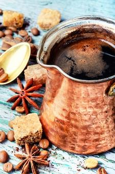 Cezveのトルココーヒー