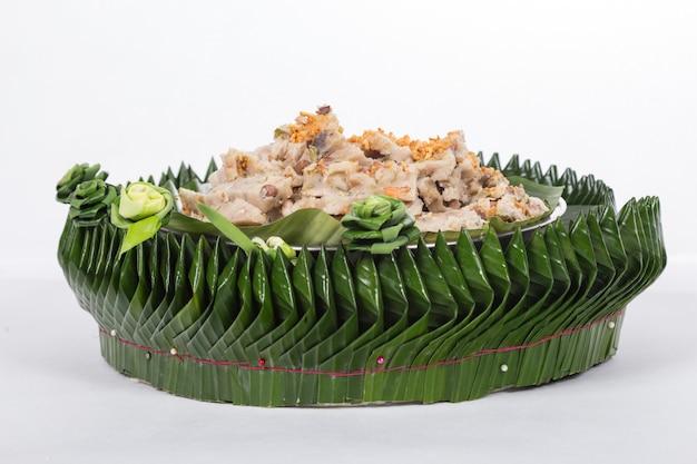 Chai tow kway or fried radish or turnip cake