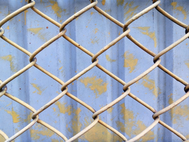 Chain fence