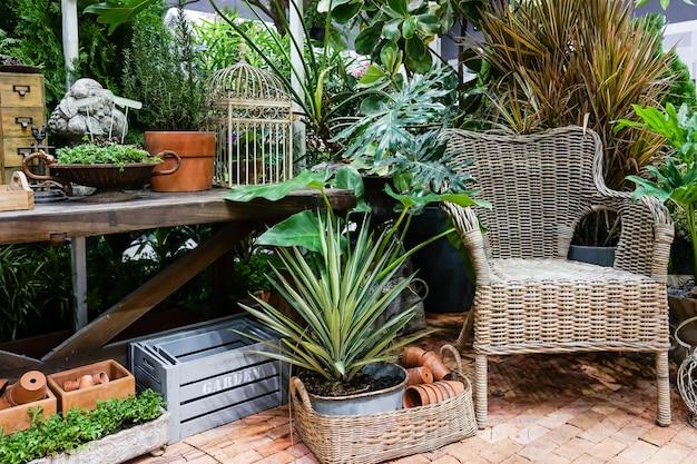 Chair in the garden