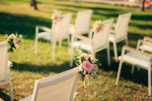 結婚式用椅子