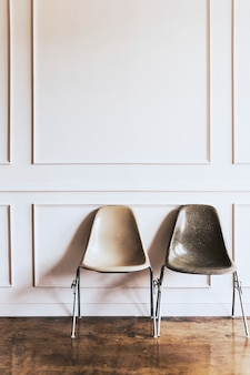 Chairs in a living room