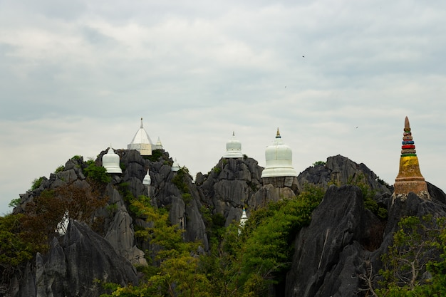 Chalermprakiat temple at lampang, thailand