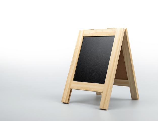 Chalkboard, blackboard stand on clean background.
