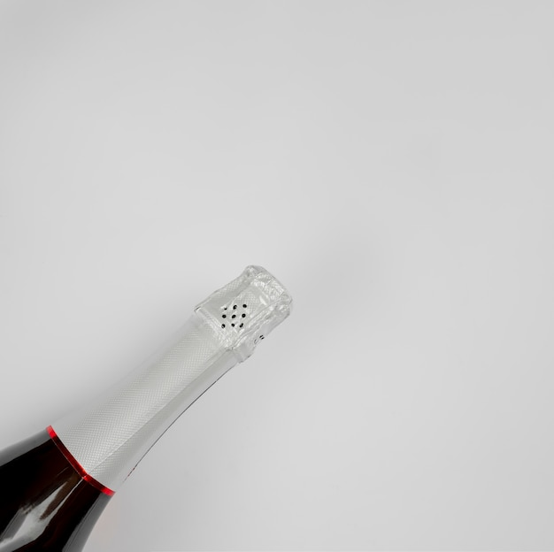 Bottiglia di champagne per il nuovo anno