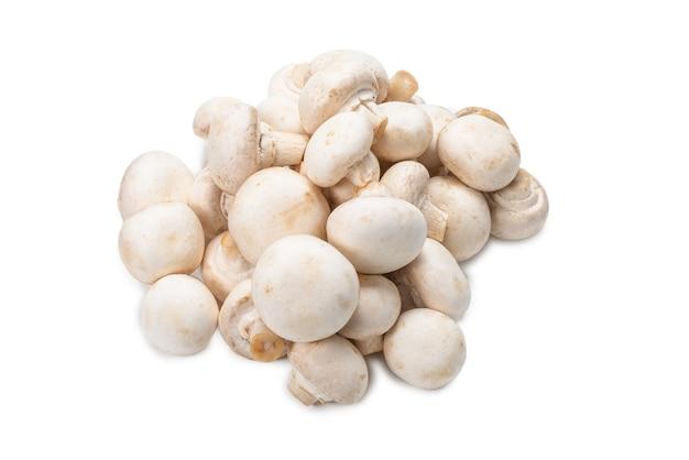 Champignon mushroom isolated on white