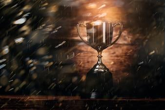 勝者のチャンピオントロフィー