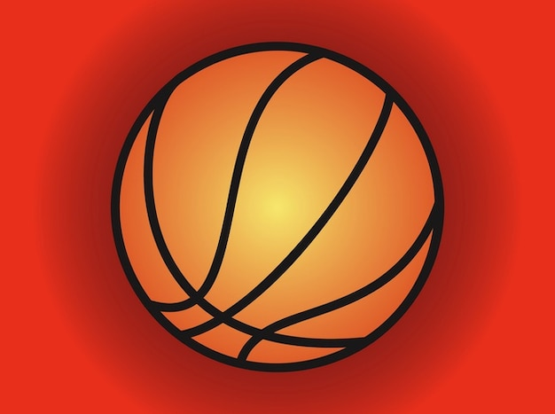 Championship basketball icon vector pack