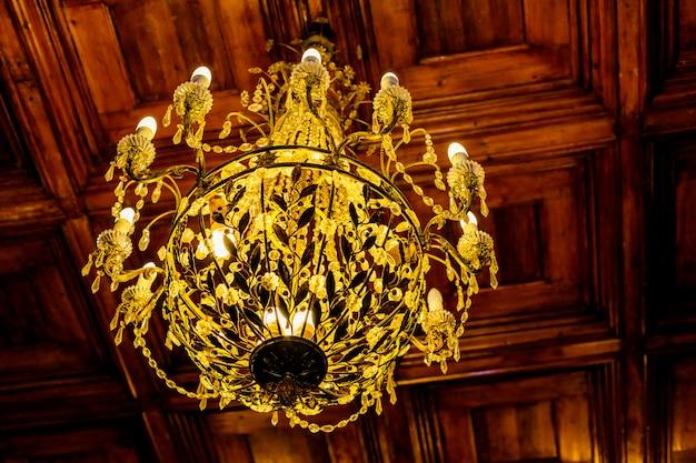 Chandelier.crystal chandelier.vintage style