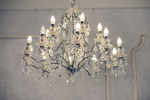 Chandeliers, crystal, chandelier , emphasis on luxury