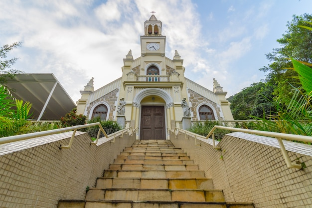 Chapel of our lady of graces in botafogo district in rio de janeiro brazil.