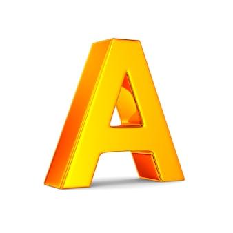 空白の文字a