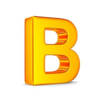 空白の文字b
