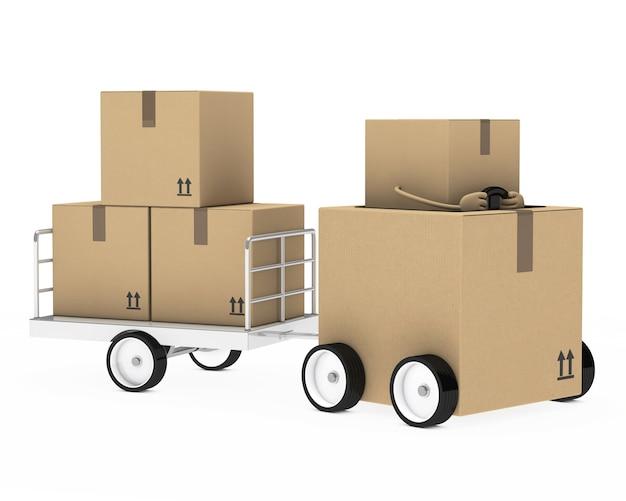 Характер проведения коробки
