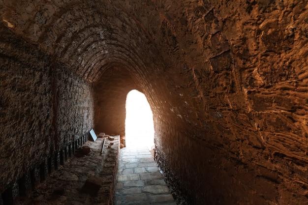 Charcoal kilns, brown rock cave