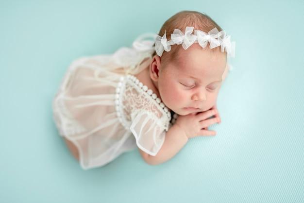Charming newborn angel