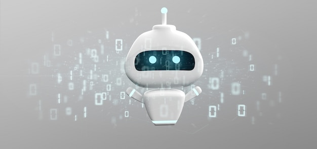 Chatbot with binary code